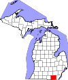 lenawee-county-map